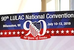 LULAC convention banner