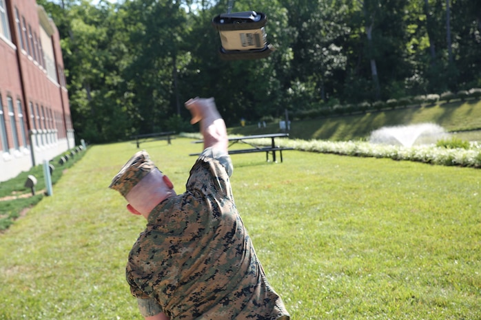 Next-generation robot helps Marines explore dangerous areas