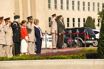 Eyptian Defense Minister Arrival Ceremony