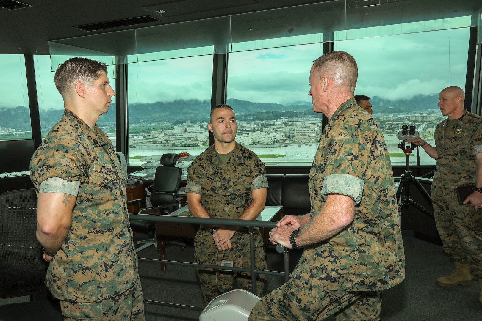 Commanding General of Marine Corps Installations Command Tours MCAS Iwakuni