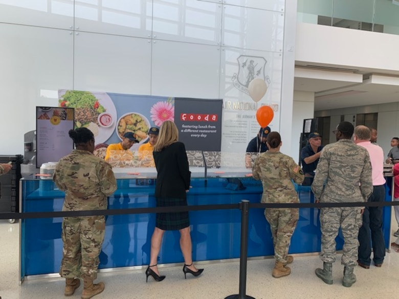 JBA celebrates new FOODA lunch services at ANG Readiness Center
