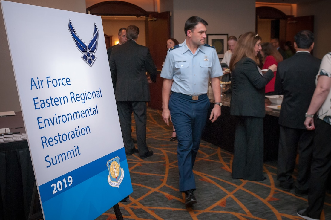 Air Force environmental restoration summits promoting whole-of-government response to emergent contaminants