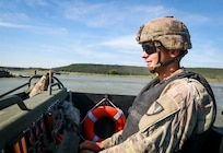Army Reserve Soldiers and Marine Corps Reserve participate in River Assault 19