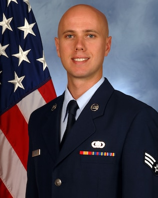 Official Photo of SrA Guy James
