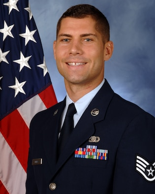 Official Photo of SSgt Andrew Detra