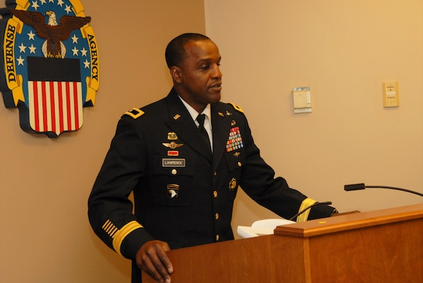 Defense Troop Support Commander Army Brig. Gen. Gavin Lawrence presided over the civilian employee retirement ceremony on July 29 in Philadelphia.  He thanked the three new retirees for their 104 combined years of service to the federal government and warfighters.