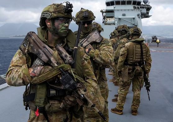 Australian forces