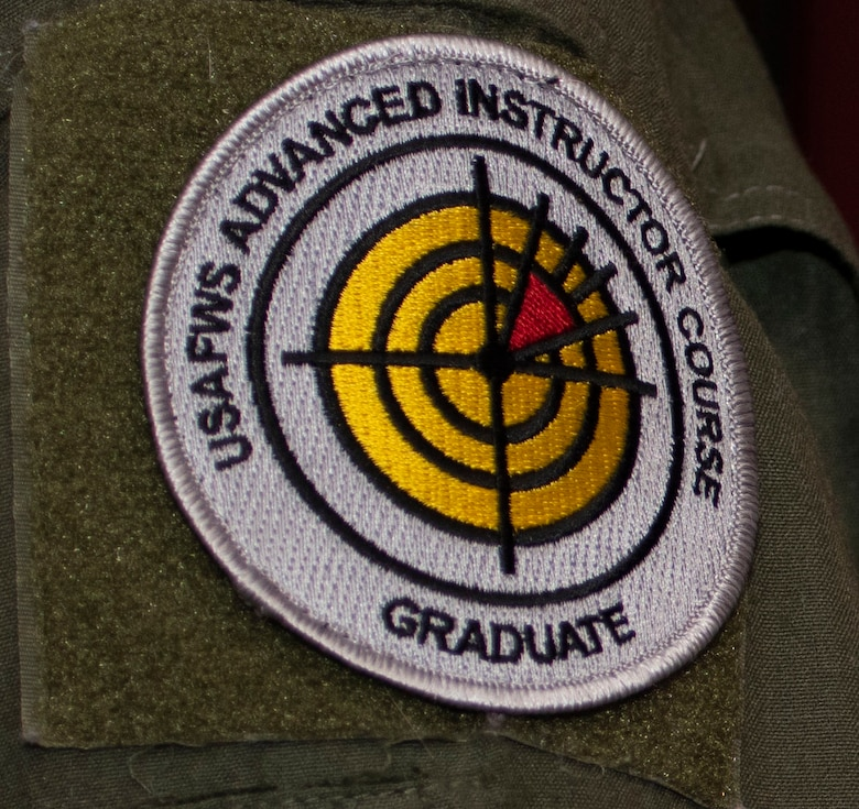 Enlisted Airmen who graduate from the Advanced Instructor Course (AIC) can wear the Air Force AIC patch on their right shoulder after graduating from the course.