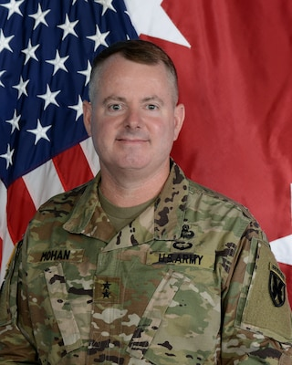 21st Theater Sustainment Command, Maj. Gen. Christopher O. Mohan
