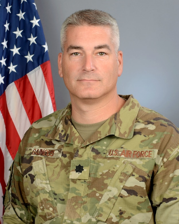 "Lt. Col. Robert ""Shane"" Gainous, 245th Air Traffic Control Squad"