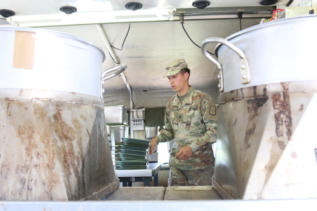Reserve FSC Soldiers support joint training exercise