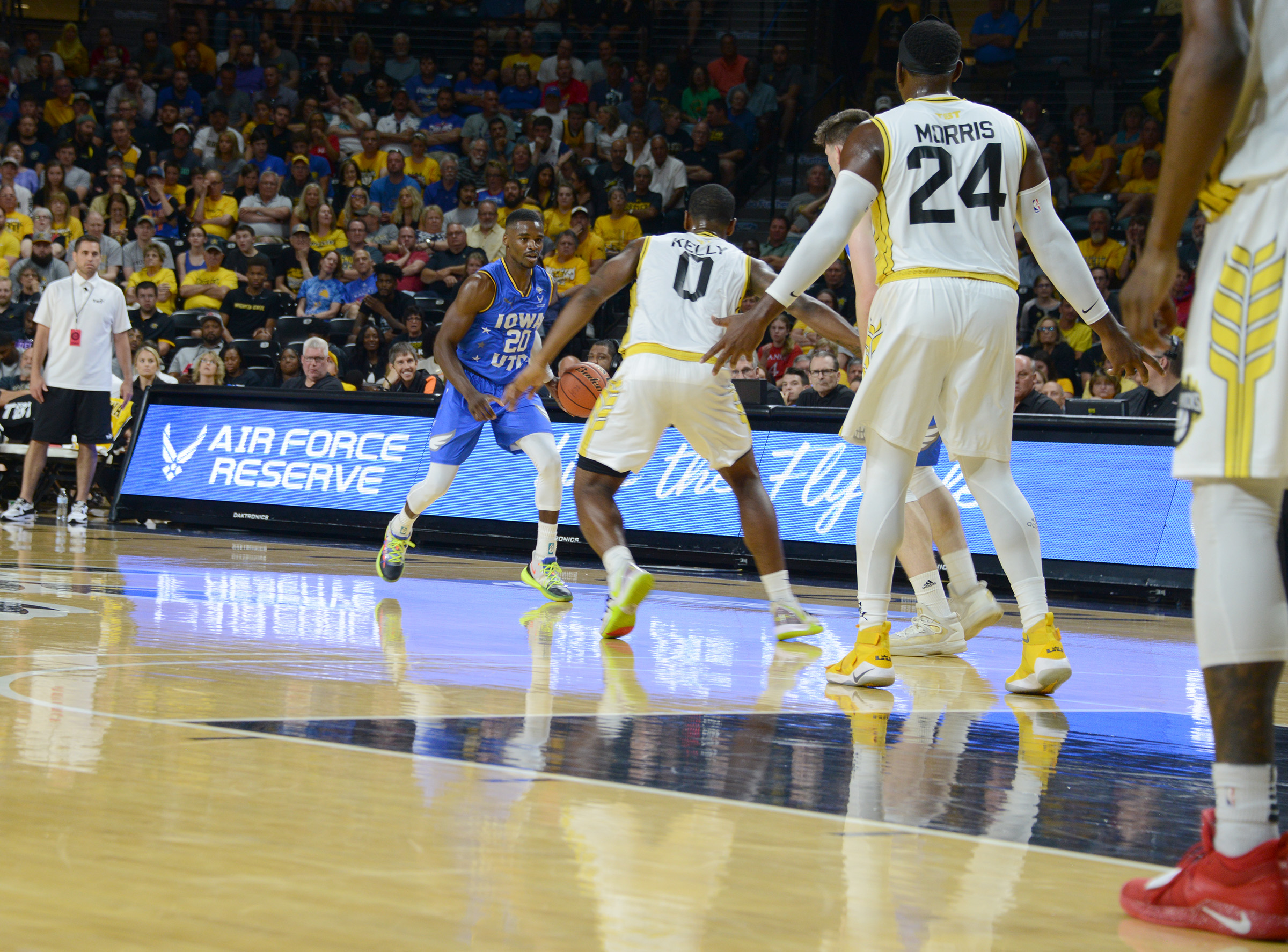 Air Force partners with The Basketball Tournament on koch arena seating guide, koch arena seating chart, koch arena map, koch arena events,