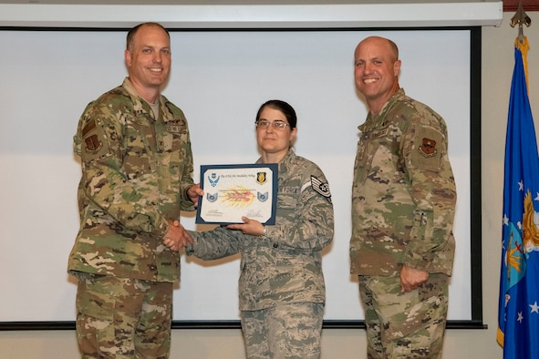 TSgt line number of three is received.