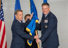 Dover reserve wing welcomes new commander
