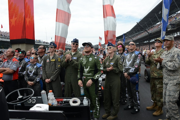 Air Force partnership with Indy 500