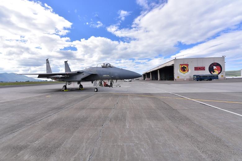 F-15 on ramp