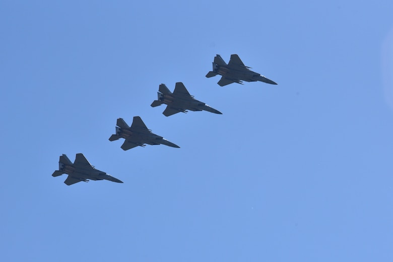 4 ship of F-15s
