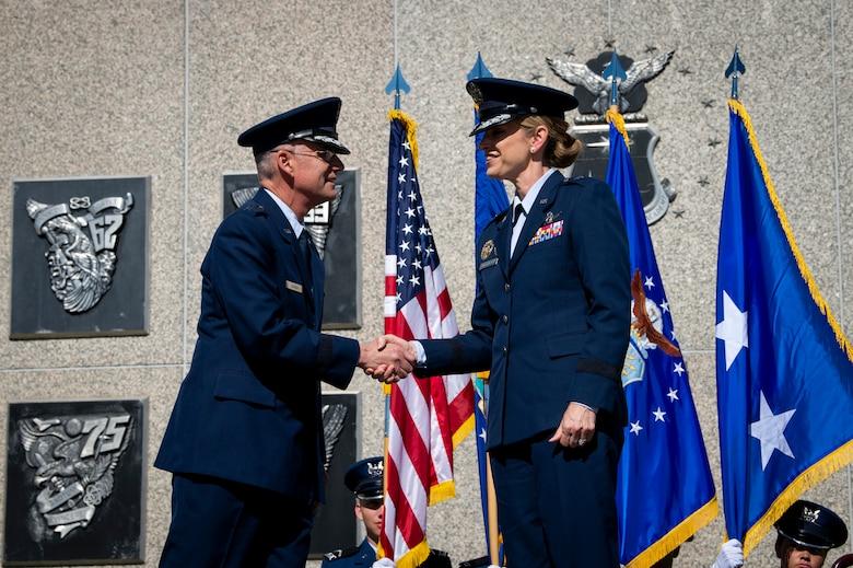 Commandant of Cadets assumption of command
