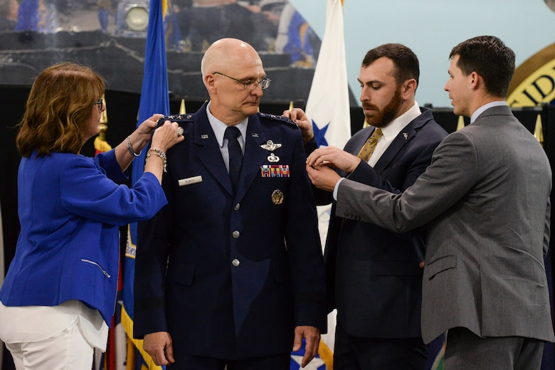 Bunch assumption of command at AFMC