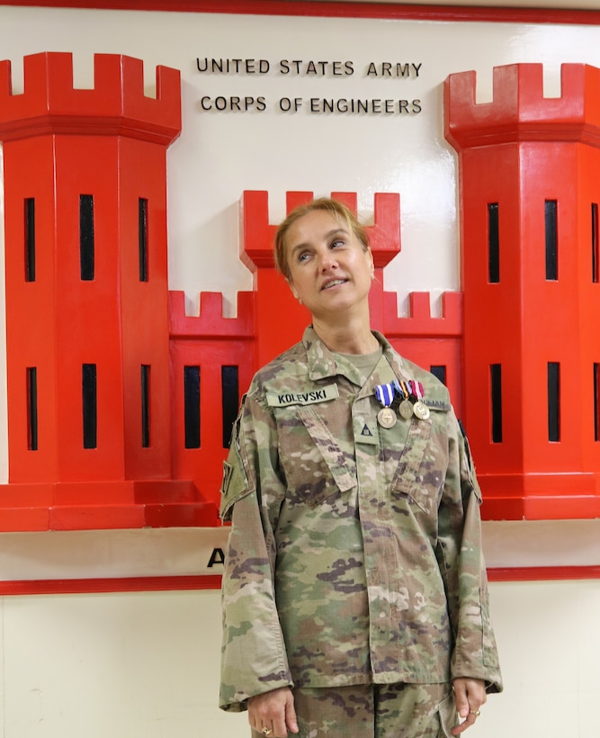 Emilija Kolevski remembers some fond moments and highlights of her deployment with the USACE Afghanistan District, serving as the Chief of Engineering and Technical Services Division out of the Kandahar Project Delivery Platform.