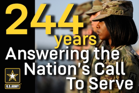"Recruiters across the country are answering the Army birthday's ""Call to Service"" with a nationwide recruiting blitz June 14."