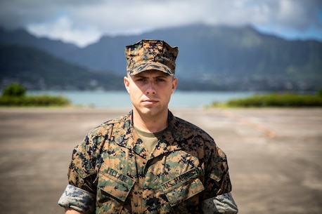 On April 8, 2019 U.S. Marine Cpl. Kyle M. LeClair, Marine Aviation Logistics Squadron 24, Marine Aircraft Group 24, was awarded the Marine Corps Aviation Association's Paul G. Vess Award for Avionics Marine of the Year.