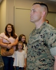 Major Willis R. Staton, Adjutant, MARCORLOGCOM, receives Meritorious Service Medal for outstanding meritorious service in the execution of his duties while serving as administrative officer and operations officer, military personal services branch, marine and family programs division, headquarters Marine Corps from May 9, 2015 to June 28, 2018. Congratulations Major Staton!