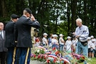 Memorial ceremony on June 2 at Mortain, France