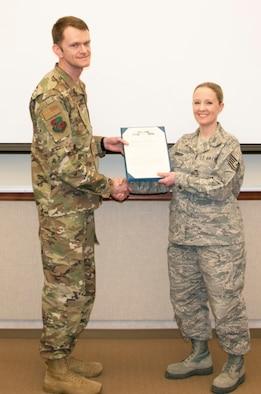 Johnson Receives AF Achievement Medal