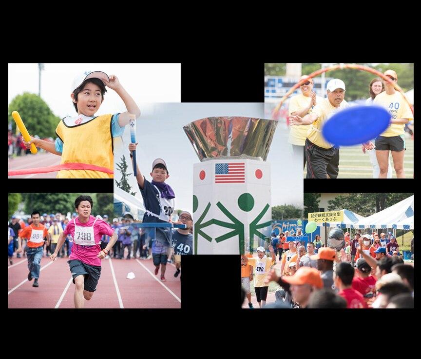 Yokota hosts 40th Annual Kanto Plains Special Olympics