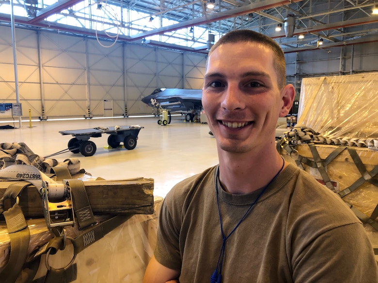 Tech. Sgt. Jesse Mitchell is the first F-35A maintainer in the 388th Fighter Wing to be certified in six different areas of F-35A maintenance. He's part of the Blended Operational Lightning Technician program and currently deployed to Aviano Air Base, Italy with the 421st Fighter Squadron supporting the F-35A in the multi-national defense exercise, Astral Knight 2019.