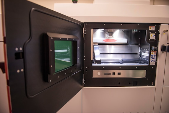 The Additive Manufacturing Laboratory at Naval Surface Warfare Center Panama City Division is taking 3-dimensional (3D) printing one step further in leading innovation through the recent addition of 3D metal printing technology.