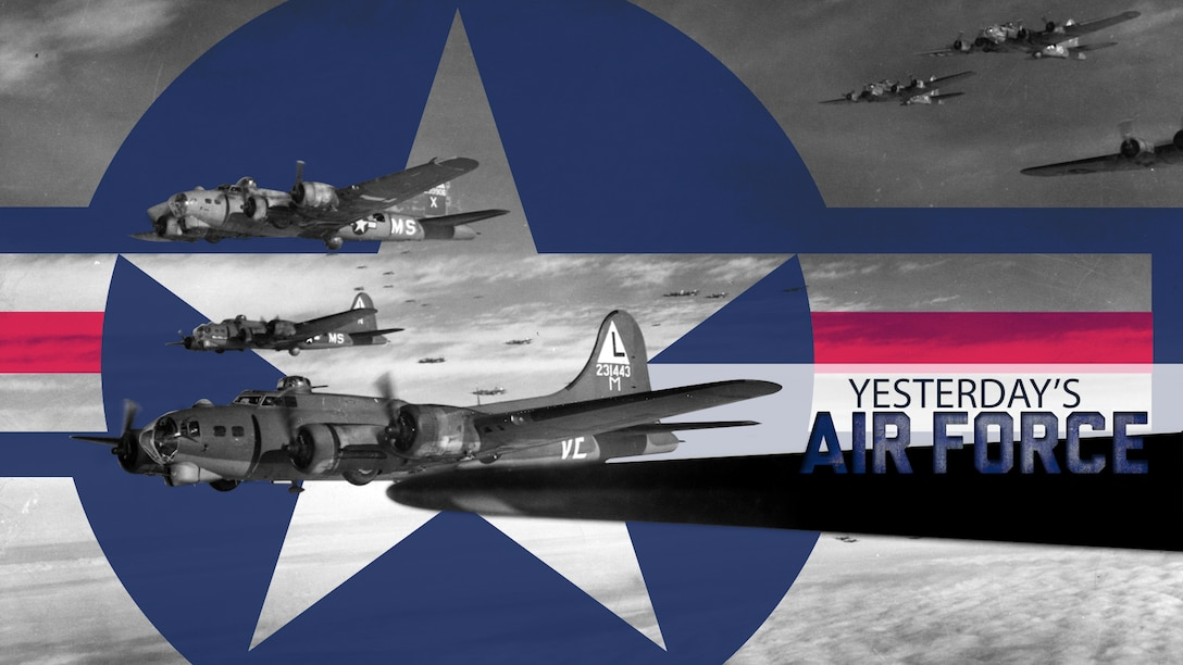 Yesterday's Air Force: WWII Heavy Bombardment (U.S. Air Force courtesy graphic)