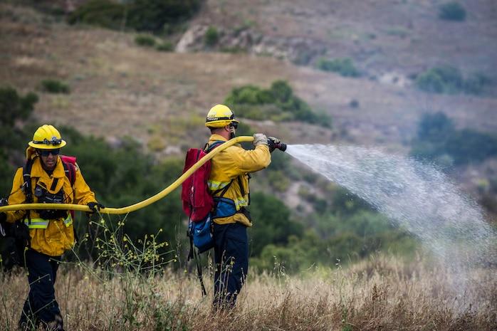 Camp Pendleton Fire Department hosts Wildland Fire School