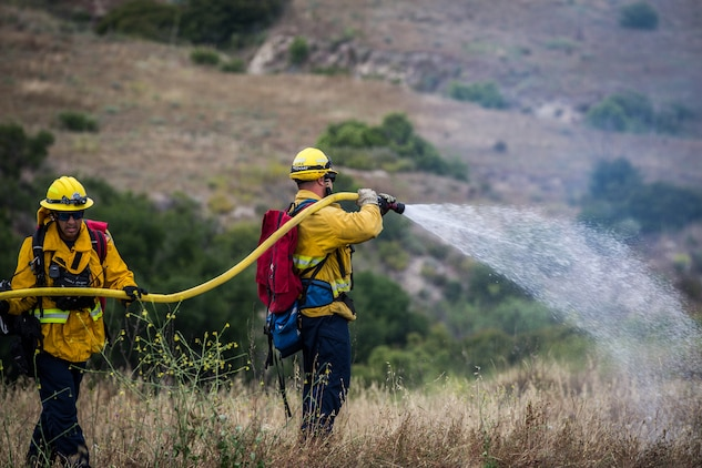 Camp Pendleton Fire Department hosts Wildland Fire School
