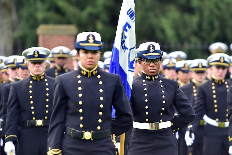 Demonstrating pride in military heritage, Regimental Reviews are one of the oldest cadet traditions.