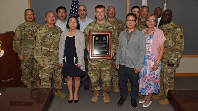 Team Osan contracting team best in Army