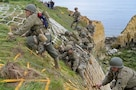 75th Ranger Regiment scale Pointe du Hoc, France