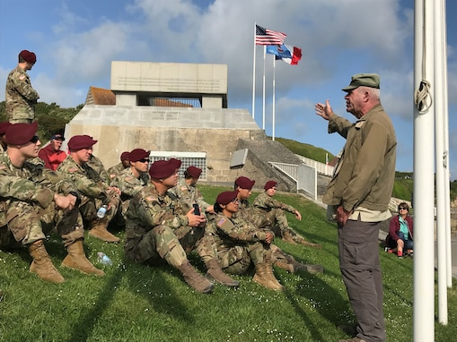353d CACOM planners help move Reserve, active Soldiers to D-Day ceremonies