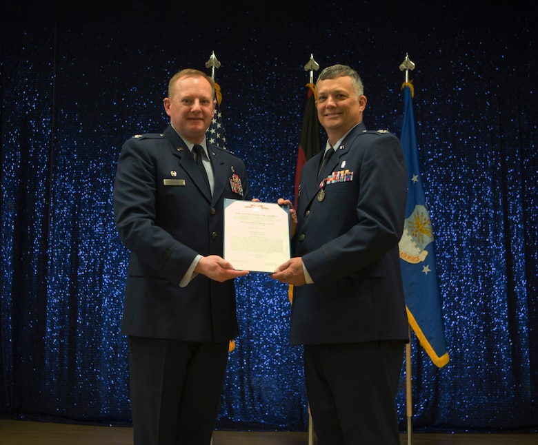 Jones received the MSM in recognition of her service of leading the 52nd DS