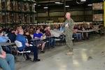DLA Distribution Commander visits Tobyhanna