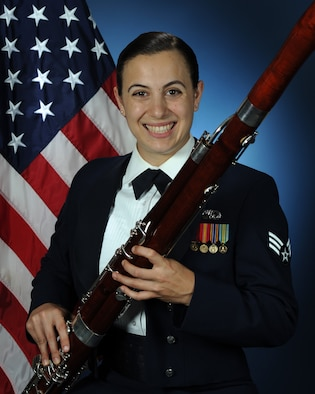 Official biography photo for SrA Nicole Pompei