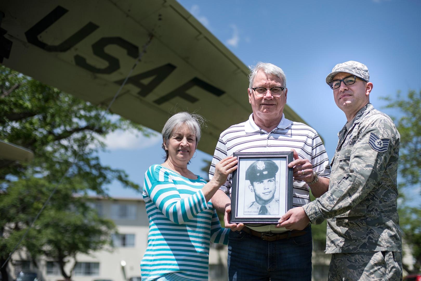 Korean War Pilot's Family Visits Memorial Aircraft at Misawa