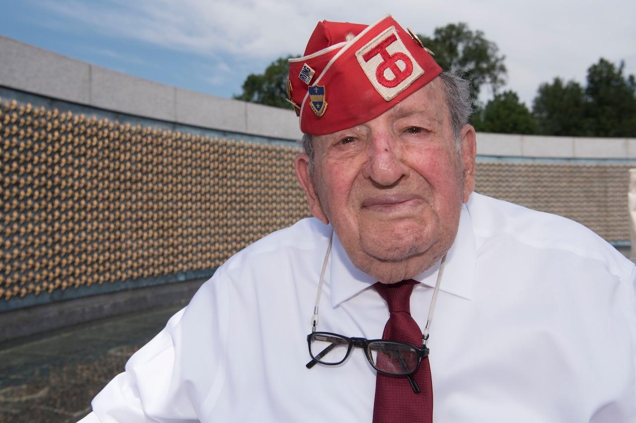 Man visits memorial