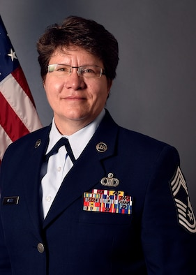 Chief Master Sgt. Tammy Weber