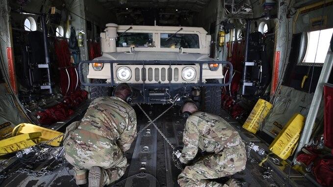 C-130 Humvee offload