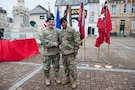 101st Airborne Division ceremony in Carentan, France