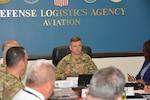 Brig. Gen. Royar speaks with aviation senior leaders