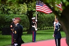 75th Anniversary of D-Day, Normandy American Cemetery, Colleville-sur-Mer, France