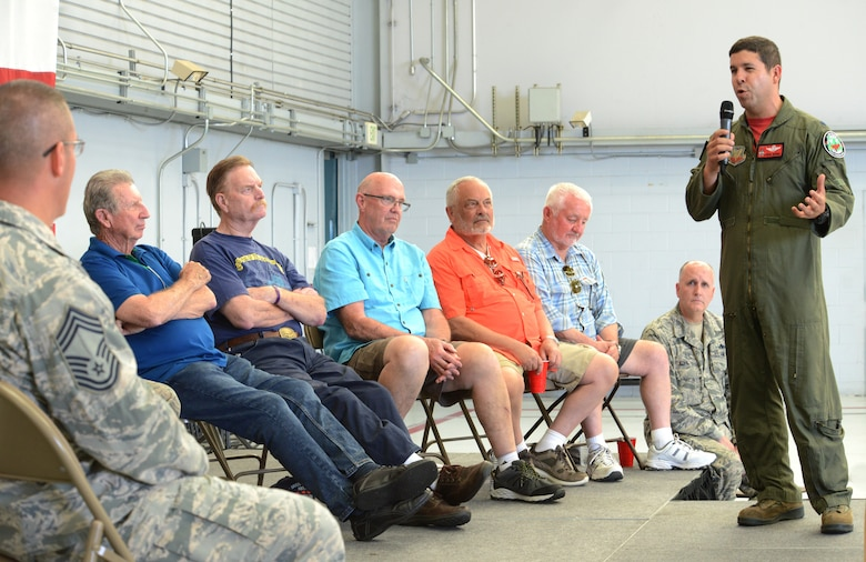 The 142nd Fighter Wing celebrates 30 years of flying F-15 Eagles